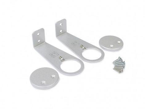LED profil OVAL rögzítő SZETT L ezüst