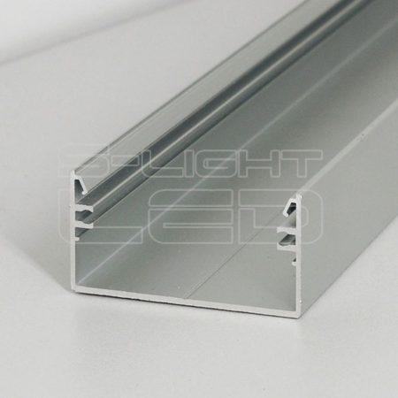 LED profil LOWI falon kívüli eloxált