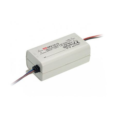 MEANWELL 12W APV-12-12 LED tápegység 12VDC