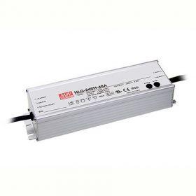 MEANWELL 240W HLG-240H-24A IP65 fém 24VDC