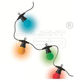 LPL 30 LED izzósor 30gömb 14,5m színes
