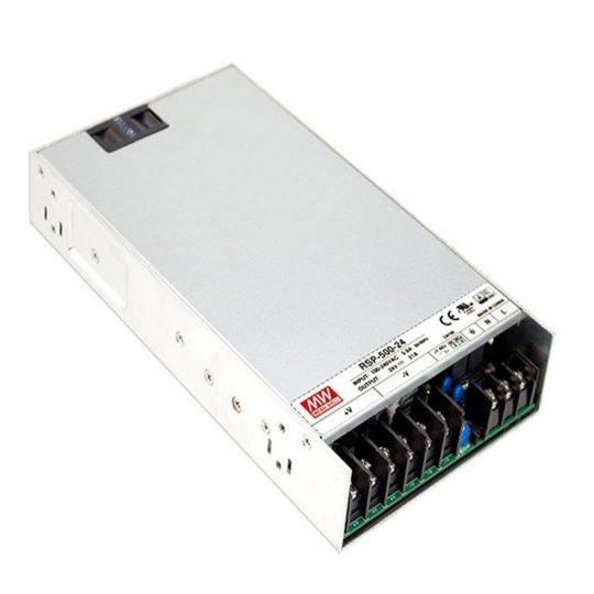 MEANWELL 500W RSP-500-24 500W-24V IP20 LED tápegység