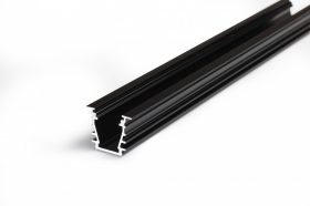 LED profil DEEP10 fekete