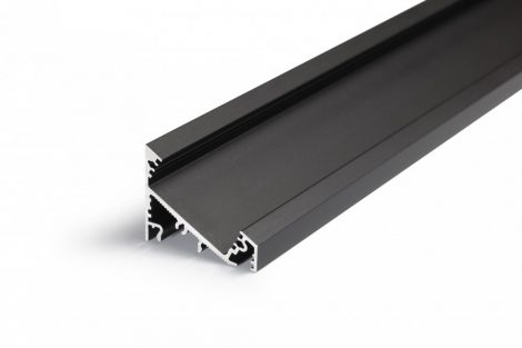 LED profil CORNER27 fekete