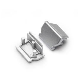 LED profil UNI12 végzáró ezüst