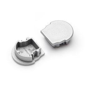 """LED profil UNI12 """"D"""" végzáró ezüst"""