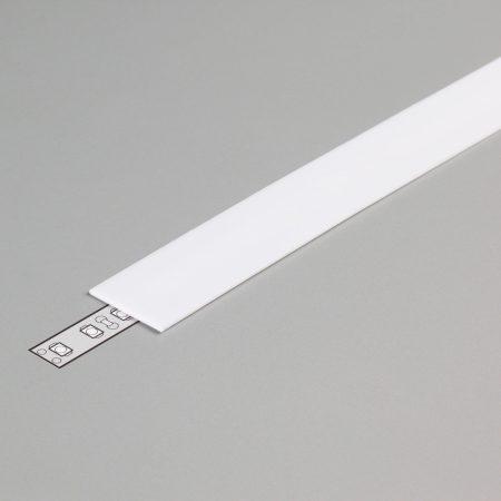 """LED profil fedél  """"E"""" opál"""