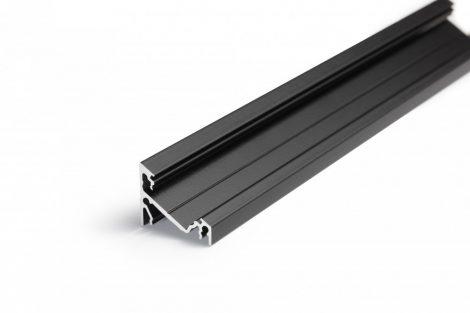 LED profil CORNER14 fekete