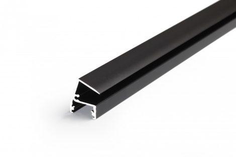 LED profil EDGE10 fekete