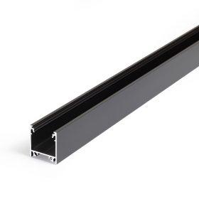 LINEA20 ALU LED PROFIL fekete