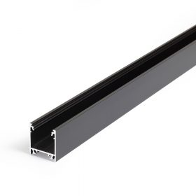 LED PROFIL LINEA20 FEKETE
