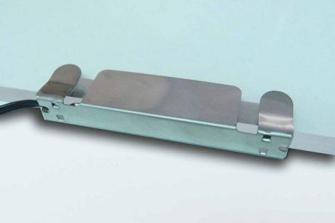 LED PROFIL KLIPS INOX 80mm üres