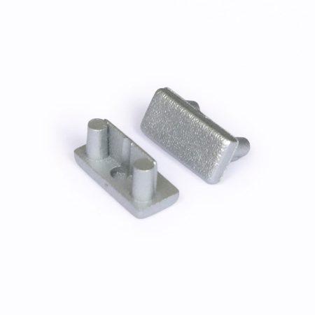 LED profil BEGTON12 végzáró ezüst/pár