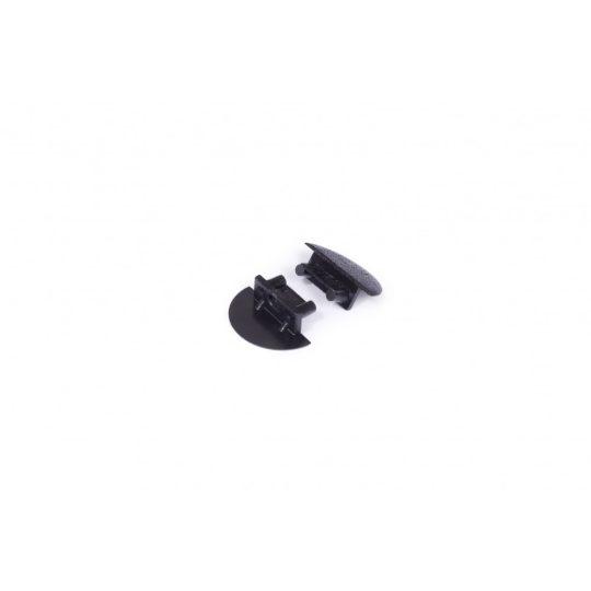 LED profil BEGTIN12 végzáró fekete fúrt