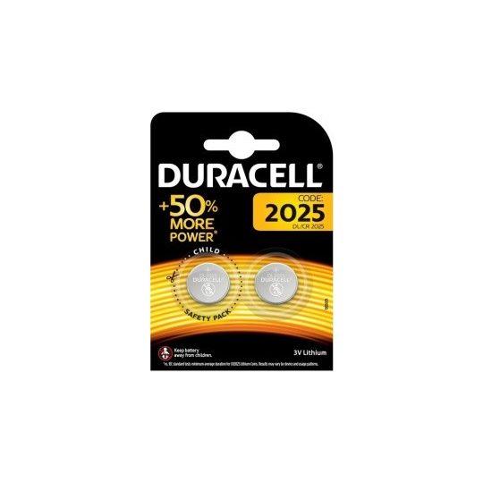 Duracell DL2025 3V lithium 2db