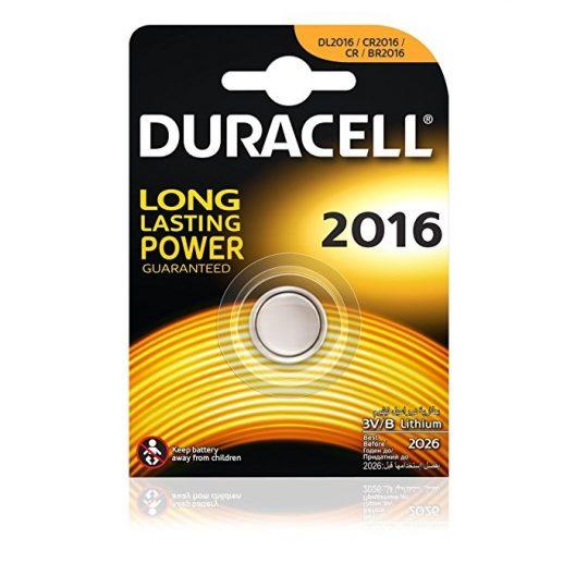 Duracell DL2016 3V lithium