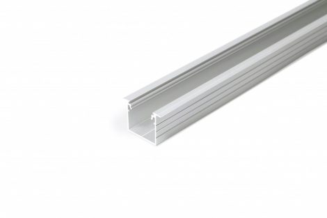 LED profil LINEA-IN20 süllyesztett natur ALU