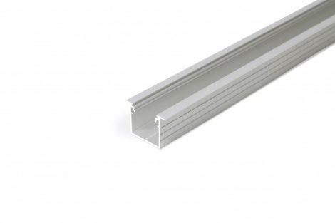 LED profil LINEA-IN20 süllyesztett eloxált ALU 4000mm