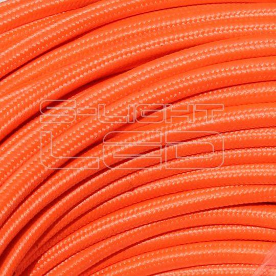 Textilkábel 829 NEON narancs 2x0,75mm