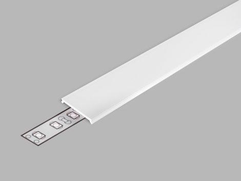 """LED profil fedél  """"C3"""" klikk opál"""