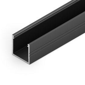 LED profil SMART16 fekete