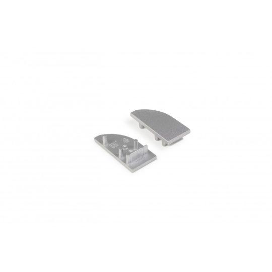 LED profil WAY10 végzáró ezüst