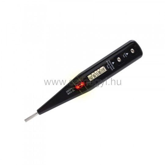 FCD 10 Feszültségvizsgáló LCD 13cm