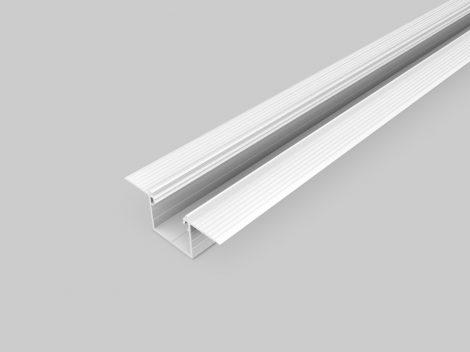 LED profil LINEA-IN20 TRIMLESS süllyesztett fehér