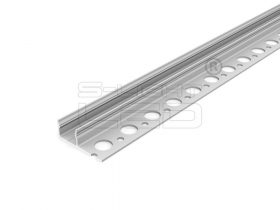 LED PROFIL UNI-TILE12 PLUS 180° csempe LED profil 2m