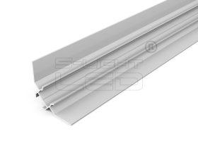 LED PROFIL UNI-TILE12 90° 3000mm csempe profil