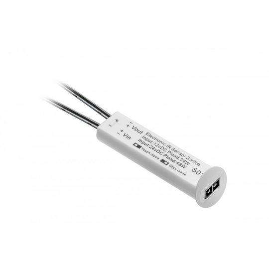 LED infra kapcsoló GTV AE WBBUNI-10DIM kétfunkciós