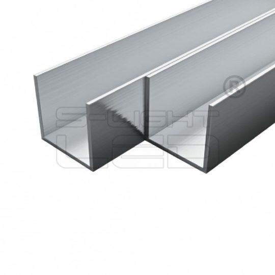 LED Profil Alu U  profil 20X20X2