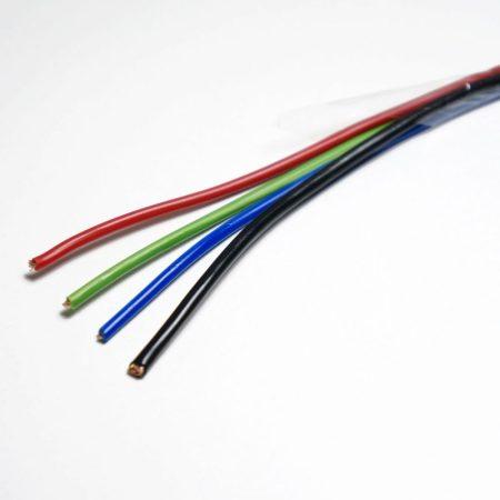 Vezeték  RGB 4-eres  gerincvezeték 1*2,5+3*0,75mm2  RGB LED szalag telepítéséhez