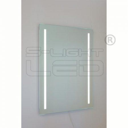 LED tükör standard 60x80 két csík 2835 4000K