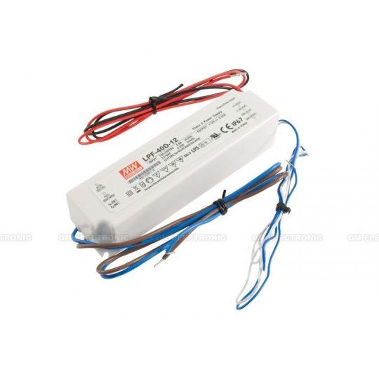 MEANWELL  40W LPF-40D-12 IP67 dimmelhető LED tápegység