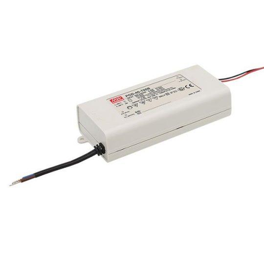 MEANWELL  40W PCD-40-500B 40W/45-80V/500mA dimmelhető LED tápegység