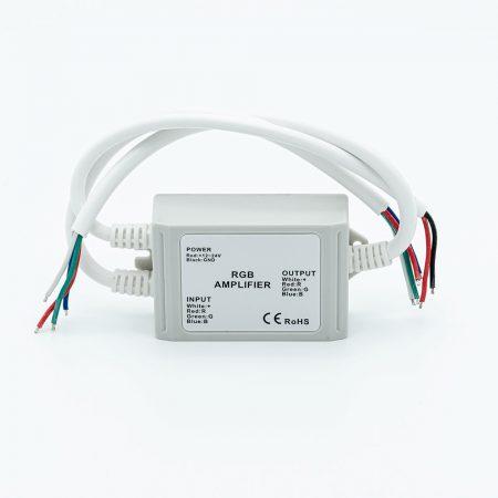 LED SL-LM-AF2-K RGB jelerősítő 144W/12V DC IP67 kültéri 3 channel