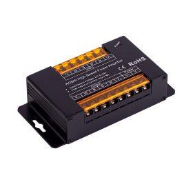 LED RGBW SL-AP103 jelerősítő 12/24V 8A/channel