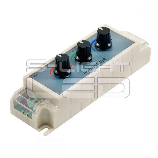 SL-LM-DC4  3 gombos RGB LED vezérlő  12V/108W