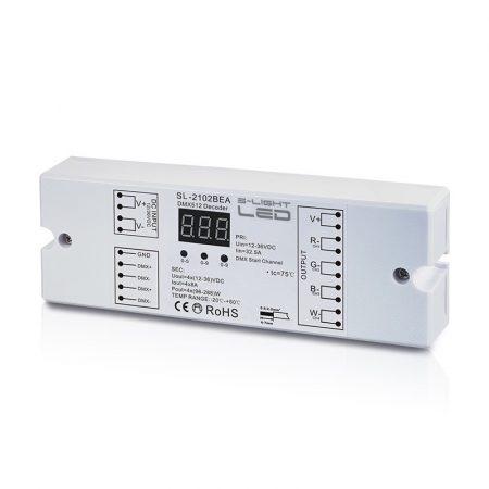 S-LIGHLED LED SL-2102BEA DMX decoder 4*8A constans voltage vásárlás
