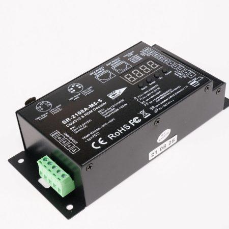 SL-2108A-M5-5  DMX&RDM master dekóder LED szalaghoz 5x8A  30kHz