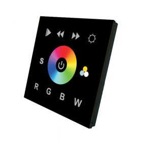 LED SL-2811DMX RGBW fali üveglapos vezérlő black