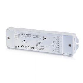 LED SL-1009FA RGBW 4 csatornás vevő  LED szalag vezérlésére