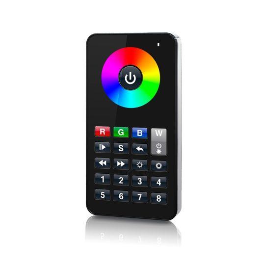 SL-2818B iPHONE stílusú LED távszabályzó fekete
