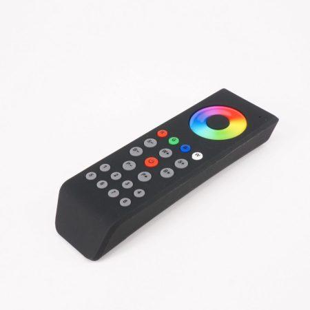 SL-2819T8 RGBW 8 zónás fekete LED távszabályzó