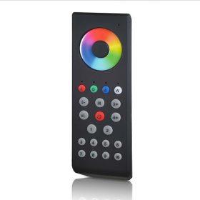 LED SL-2806 10 zónás fekete DMX LED távszabályzó /A SL-2815 DMX vezérlőhöz/