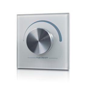 LED SL-2805R-W forgógombos fali DIMMER RF vezeték nélküli fehér