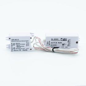 LED SL-8003  mikrohullámú mozgásérzékelő kapcsoló 230V 500W