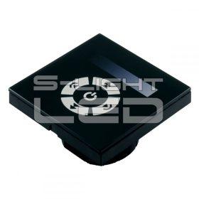 SL-TM-06E fali érintőgombos LED fényerőszabályzó panel (vezetékes)