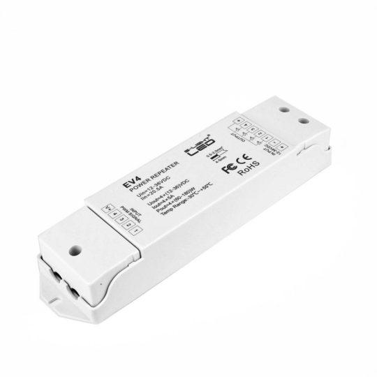 SL-SK EV4 RGBW 4 csatornás LED szalag jelerősítő 4x5A